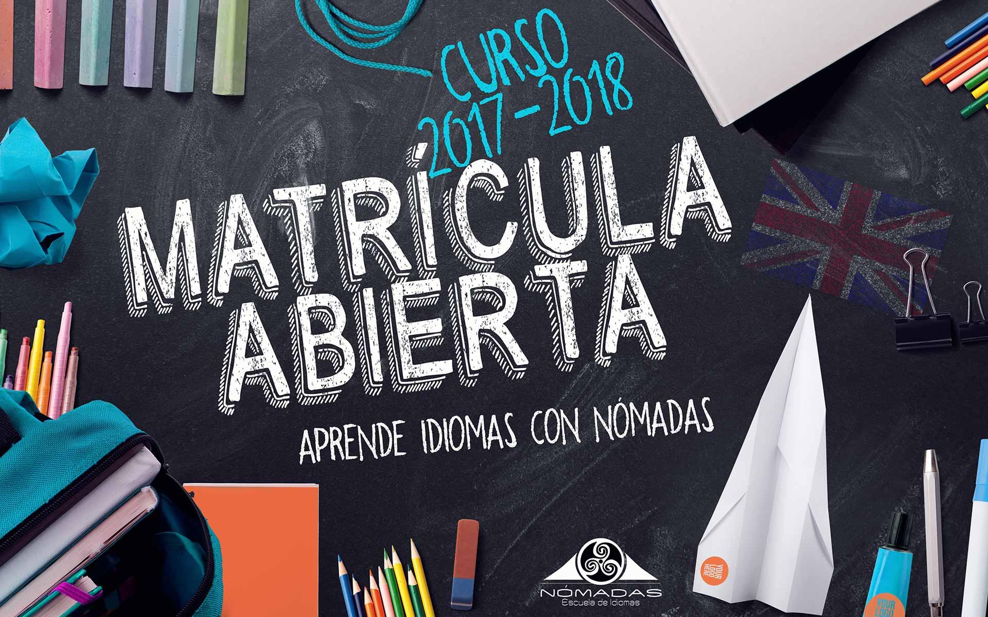 Matricula 2017 2018