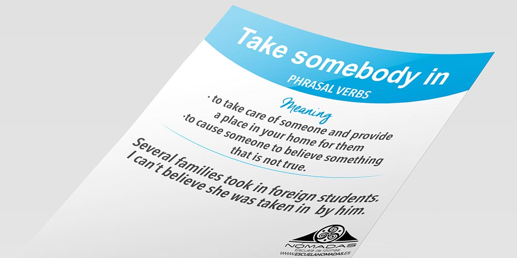 English flash card phrasal verb escuela de idiomas Nomadas - Alcazar-de-san-juan-preparacion-cambridge-twitter