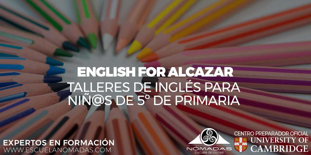 English for Alcázar de San Juan - Escuela de Idiomas Nómadas